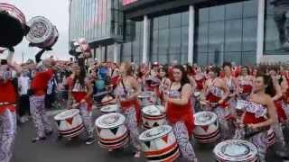 Batala London Playing at Wembley Stadium 2014 (HD)