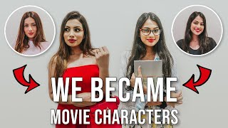 WE TRANSFORM INTO ICONIC BOLLYWOOD CHARACTERS! | Aashna Hegde