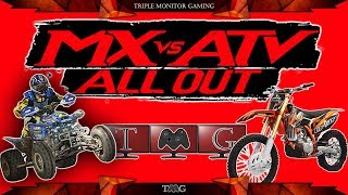 MX vs. ATV All Out | Triple monitor gaming 5760x1080