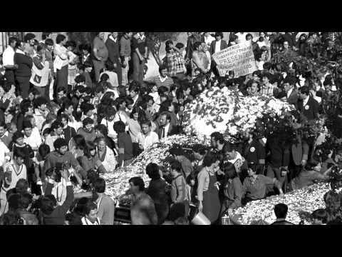 Funeral de Manuel Guerrero y José Manuel Parada.