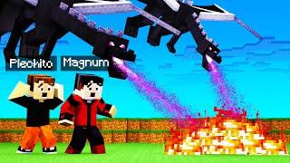LOS ENDER DRAGON SE VOLVIERON LOCOS!! 😱🐲 | Minecraft