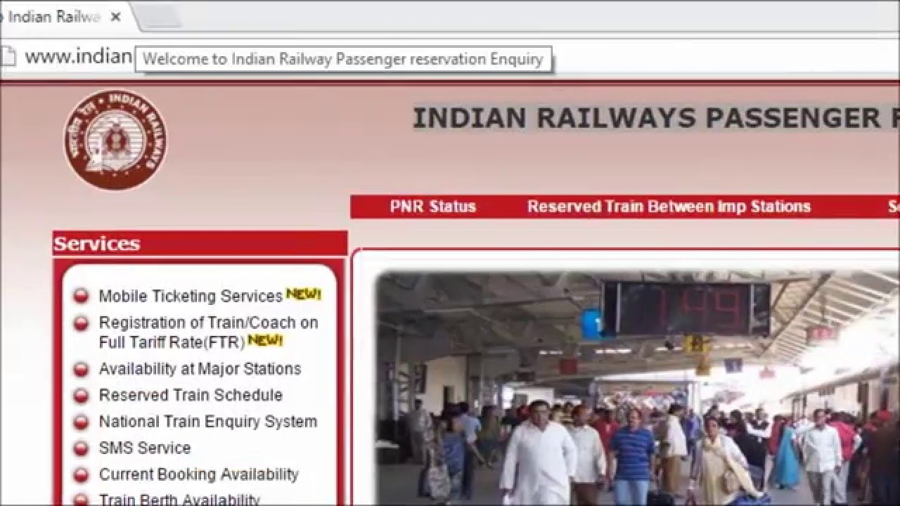 online railway passenger reservation Passenger info reservation & ticketing: concessions list: concession cerficates: tourist information: time table information : retiring room detail : claims passenger: concession rules: refund rules : bookmark : this is the portal of indian railways.