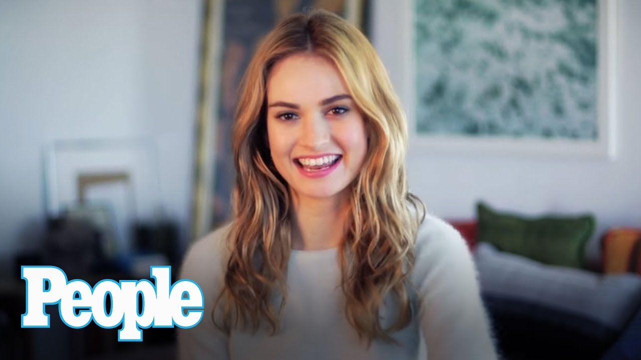 What Happened When Cinderella's Lily James Met Prince ...