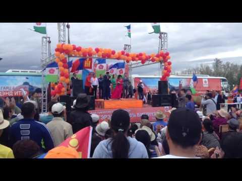 Ganbaatar Campaign Event Dalanzadgad