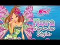 Winx Club Fairy of Nature Flora Sirenix Style Dress Up Game