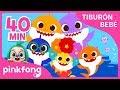 Mejores Canciones del Tiburón Bebé | +Recopilación | Pinkfong Canciones Infantiles