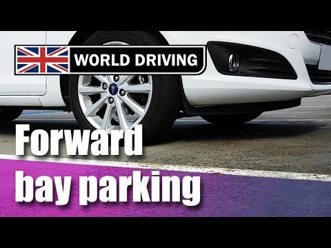 How to do forward bay parking - Easy tips - UK driving test manoeuvres
