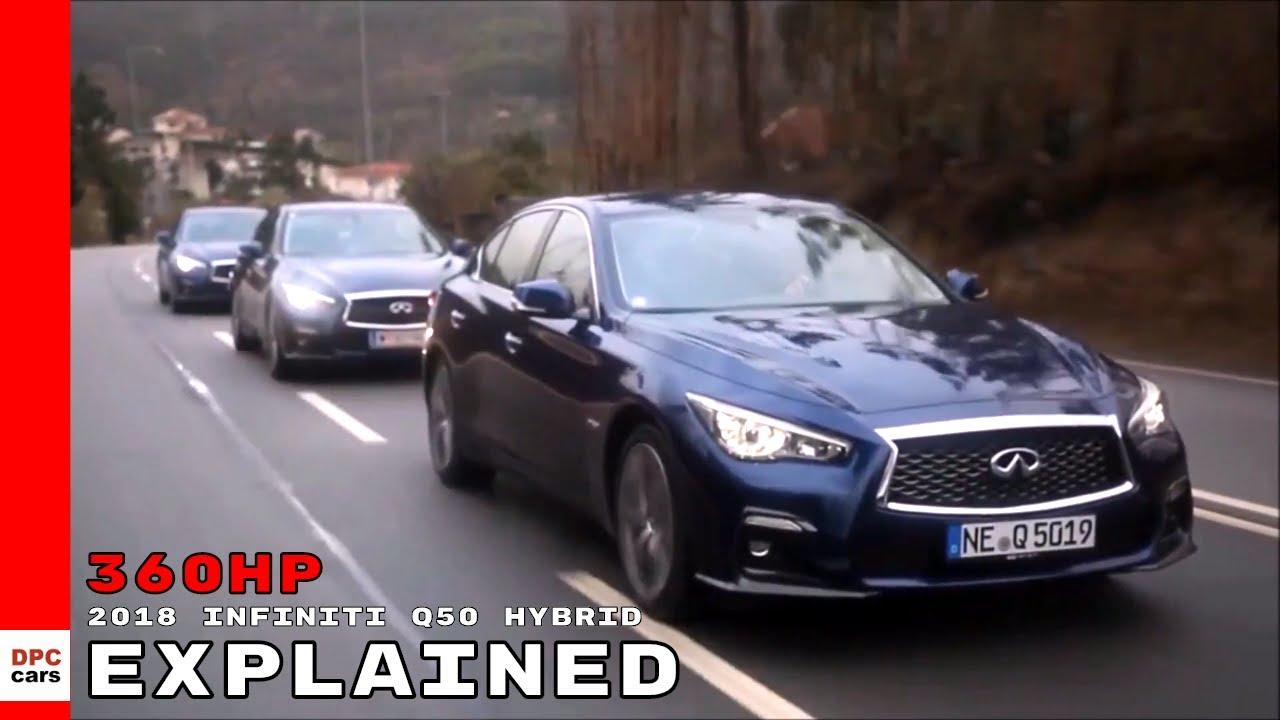 2018 Infiniti Q50 Hybrid Explained - YouTube