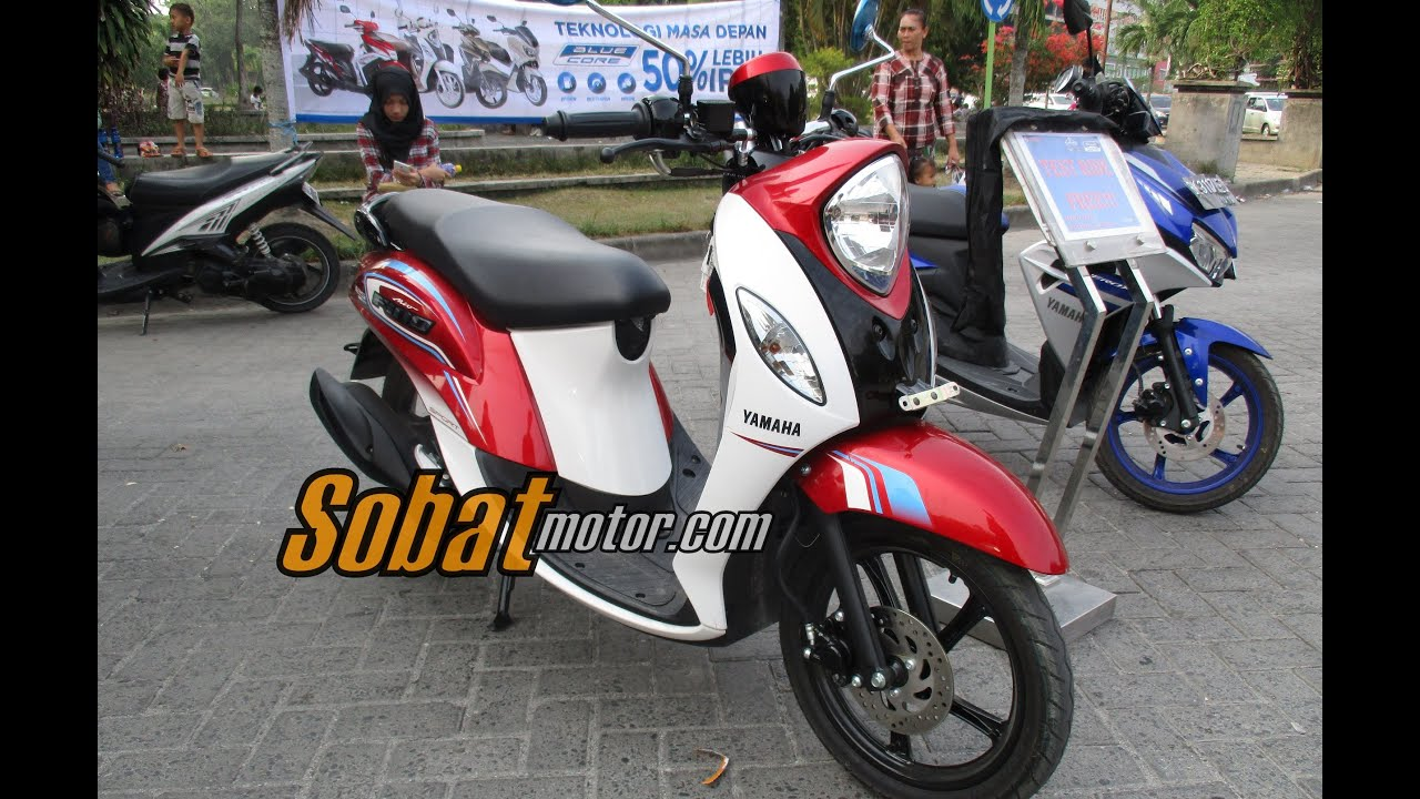 Yamaha New Fino 125 Blue Core 2016