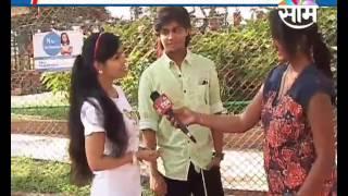 Interview With Starcast Of Marathi Film ' Ti Saddhya Kay Karte