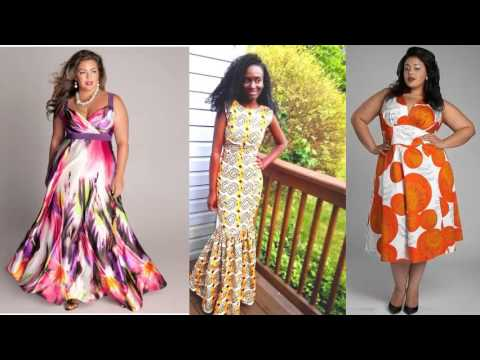 Plus Size African Trendy Dresses African Fashion Wear