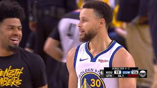 Golden State Warriors Survive Game 5 vs  Houston Rockets With Crazy Ending