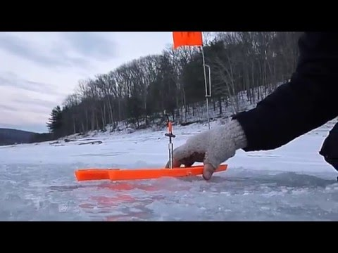 First Time Ice Fishing The Allegheny Reservoir