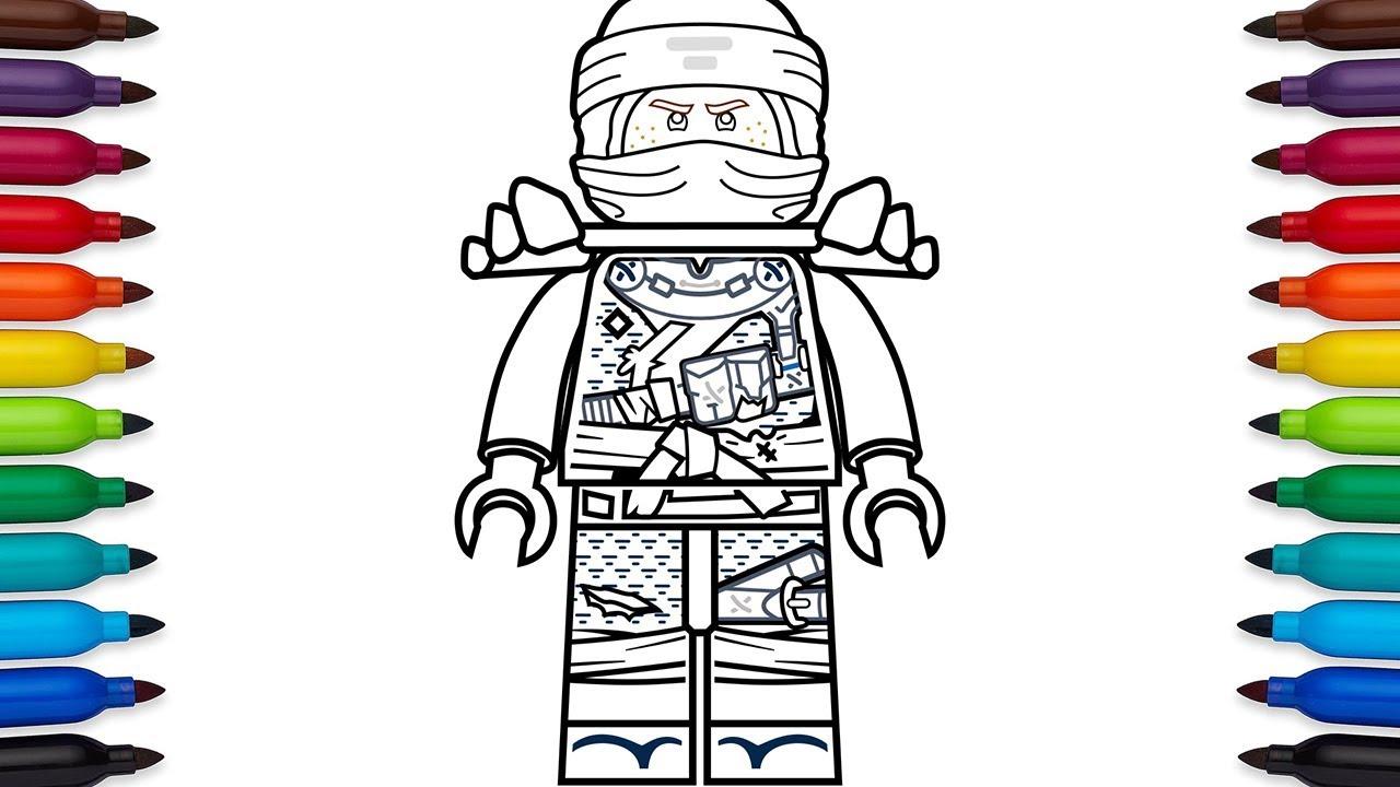 How To Draw Lego Jay From Ninjago Hunted Season 9 Youtube