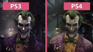 Batman Arkham Asylum – PS3 vs. PS4 Return to Arkham Remaster Graphics Comparison