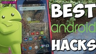 Best Android HACKS, SECRETS, TIPS and TRICKS! NEW 2016