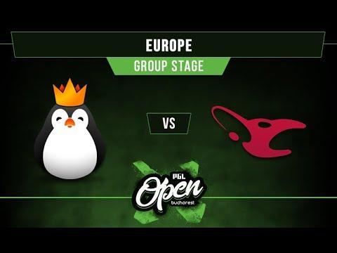 Kinguin vs mouz Game 2 - PGL Bucharest EU Qualifier Group A -@LyricalDota @EosinDota