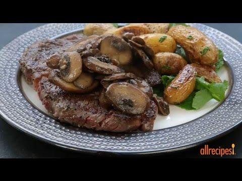How to Make Sauteed Mushrooms | Mushroom Recipes | Allrecipes.com
