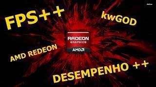 Configurar placa vídeo AMD Radeon Desempenho FPS++