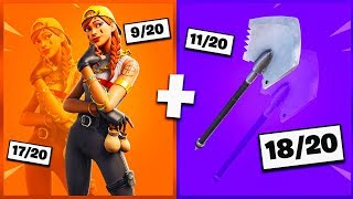 🔥 I NOTE YOUR 20 TRYHARD SKIN COMBOS ON FORTNITE! v32