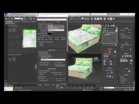 Combine multi texture into one texture for a 3D model in 3DSMax
