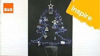 How to make a chalkboard Christmas tree