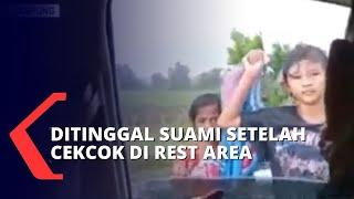 Terlantar dan Kehujanan di Tol Lampung, Ibu dan Dua Anak Diselamatkan Patroli Polisi