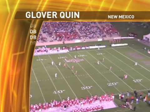 Glover Quin, UNM - DB - 2008 MWC Leader in INTs & ...