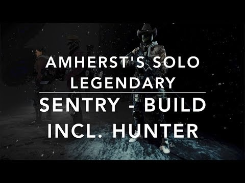 The Division 1.8.1 - AMERST's APPARTEMENTE SOLO LEGENDARY incl. Hunter - SENTRY BUILD (M44 & URBAN)