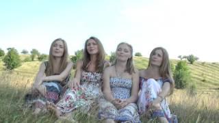 Ой, у вишневому саду. Сёстры Рыбачек: Мария (Серикова), Лилия (Морозова), Олеся и Алина