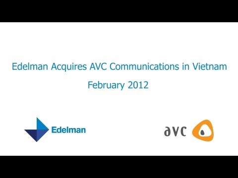 Edelman Acquires Vietnam Firm AVC Communications
