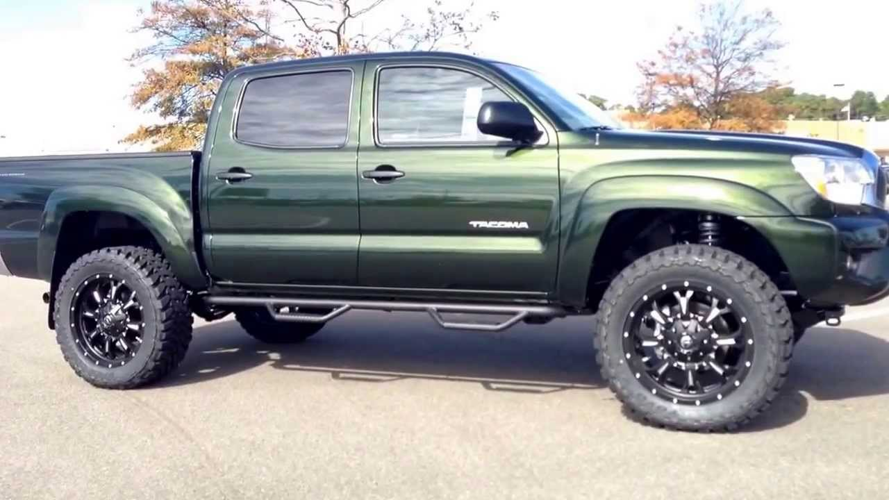 2014 Toyota Tacoma Lifted And Upfitted By Down East