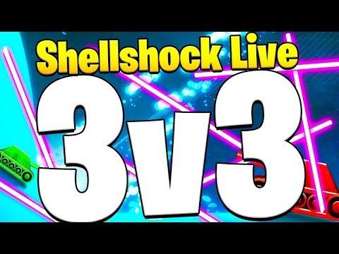 3V3 REBOUND DEATH MODE! - Shellshock Live Showdown