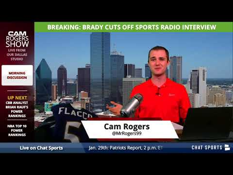 BREAKING: New England Patriots QB Tom Brady Cuts WEEI Interview Short Due to Alex Reimer's Comments - 동영상