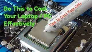 Thermal Paste ? When you should Reapply ? Do This To Cool Down Your Laptop or PC Effectively !!!