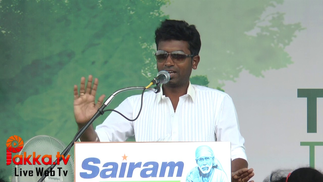 speech on tree plantation