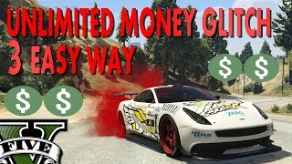 3 WAY TO GET UNLIMITED MONEY GLITCH IN GTA 5 WITH LCN