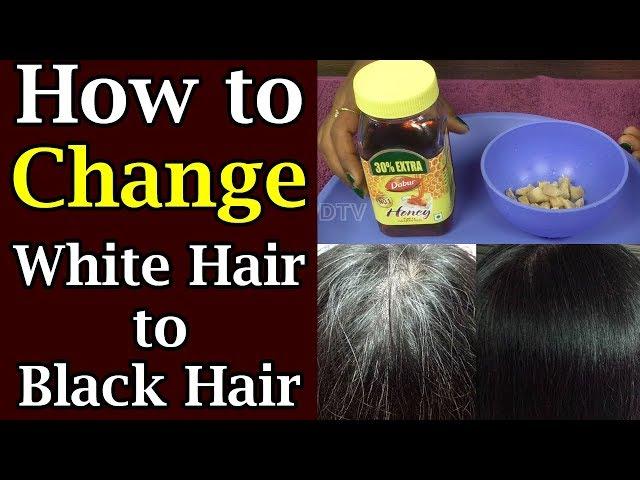 How to change white hair to black Hair |అల్లం మరియు తేనె కలిపి తింటే జుట్టు నల్లగా మారిపోతుంది