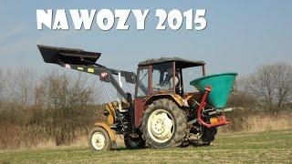 Nawozy 2015 || Ursus C-330 + Tur Wol-Met 1A & Abra N-004 ||