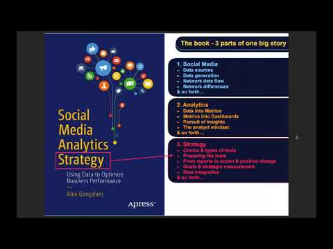 Social Media Analytics Strategy - official book release webinar