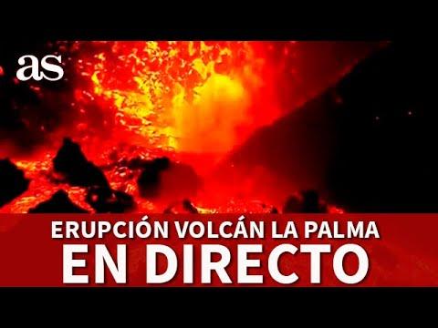 Download EN DIRECTO: Erupción VOLCÁN en  LA PALMA, la lava arrasa casas de la zona | Diario AS