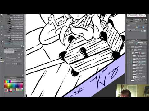 Inking and Animating with Clip Studio Paint & Toon Boom Harmony