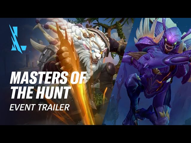 Masters of the Hunt | Official Event Trailer - League of Legends: Wild Rift
