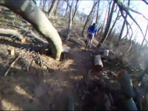 Cherokee Park - Louisville, KY - Downhill Run - Mountain Biking