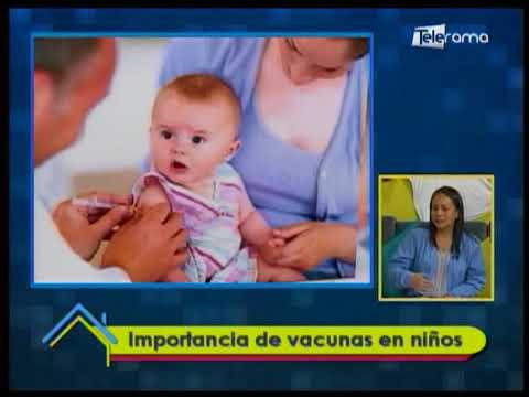 Importancia de vacunas en niños