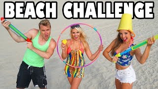Beach Games  Challenge with Water Balloons, Super Soakers & More. Totally TV