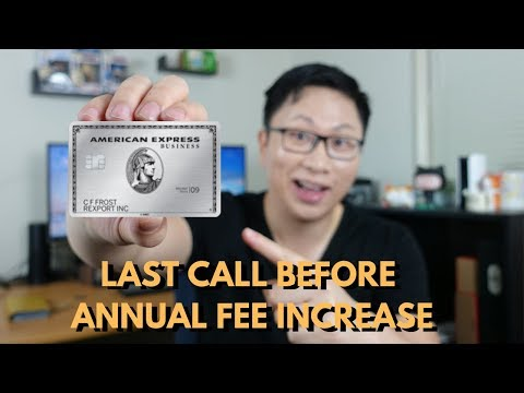 Last Call: Amex Business Platinum Fee Increase at 12AM PST 2/1/2019