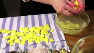 Видео рецепт о том, как правильно необходимо жарить картошку