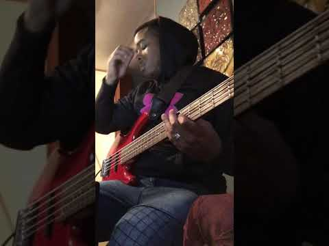 """Worship Rise"" by Travis Greene *bass cover*"
