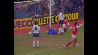 tottenham 2 v Arsenal 4 december 1983 first division news report